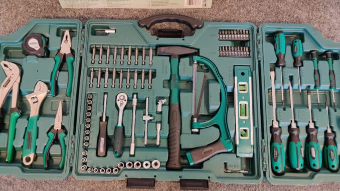 Mannesmann Werkzeugkoffer M29085