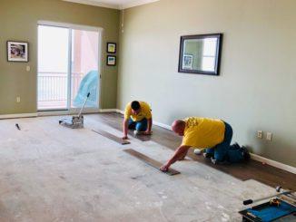 Raum wird renoviert