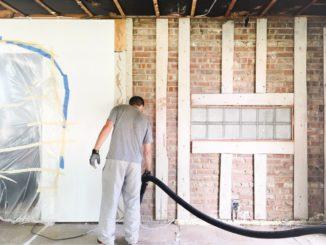 Renovierung eines Hauses